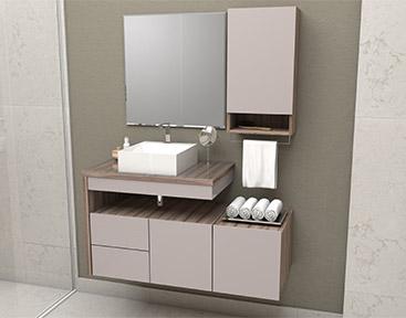 Banheiro em Madeira Cozimax Aimoré