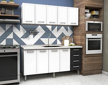 Cozinha de Aço Cozimax Quality Flat