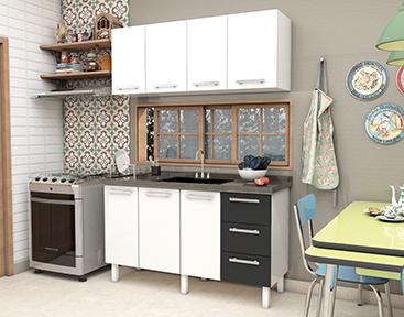 Cozinha de Aço Cozimax Vênus Flat