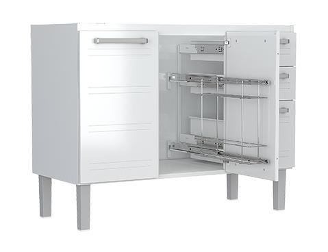 gabinete-de-cozinha-em-aco-cozimax-hercules-flat-120-branco-aberto