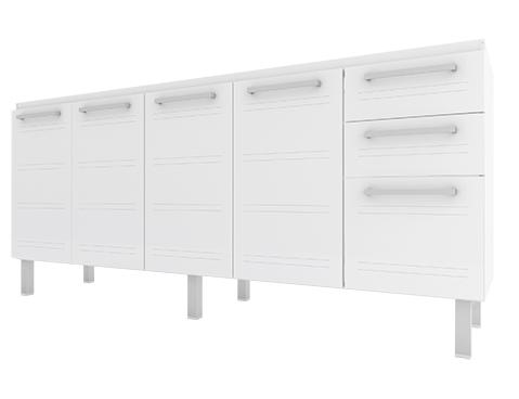 gabinete-de-cozinha-em-aco-cozimax-zeus-flat-180-200-branco