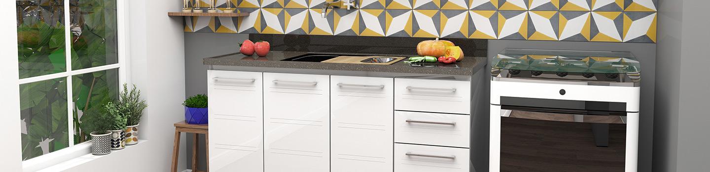 Cozinha em Aço Cozimax Zeus Flat