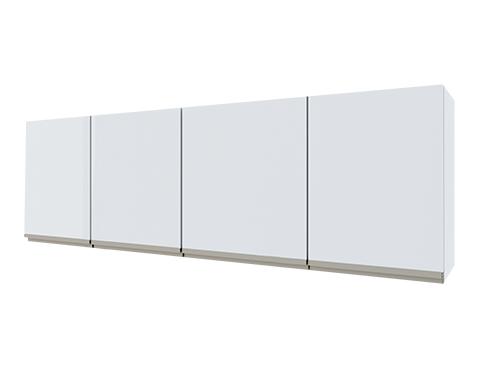 Armário Aéreo de Cozinha em Aço Gaia Flat Cozimax 180/200