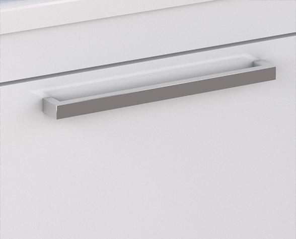 Puxadores em ABS Metalizado