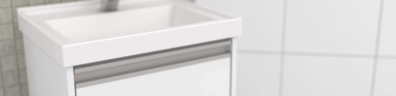 Banheiro em Madeira Cozimax Rubi