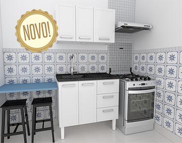 Cozinha em Aço Cozimax Apolo 100