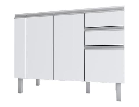 Gabinete de Cozinha em Madeira Cozimax Tupã 120 140 150 Branco