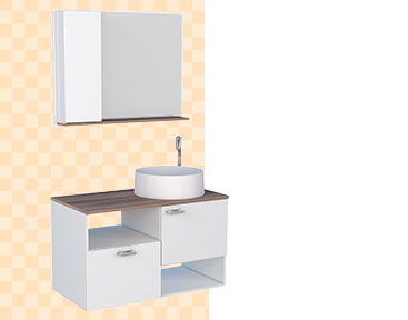 Banheiro em Madeira Iara Cozimax