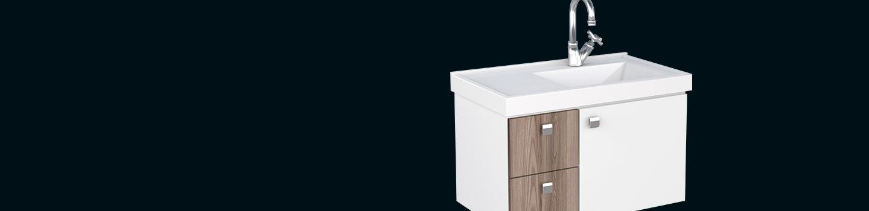 Kit para Banheiro em Madeira Moara Cozimax Móveis