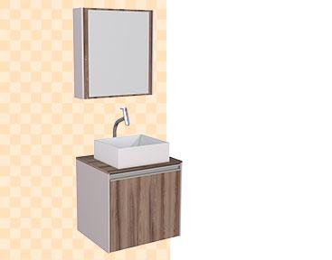 Banheiro em Madeira Poti Cozimax