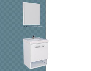 Kit de Banheiro em Aço Pitanga Mais Cozimax
