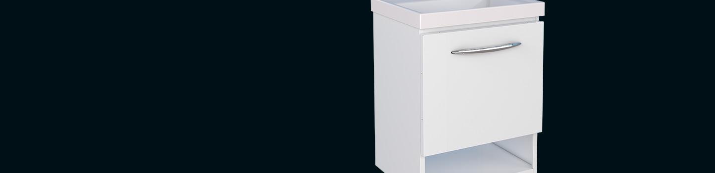 Kit de Banheiro em Aço Pitanga Mais Cozimax Móveis