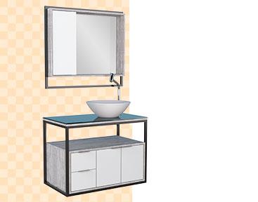 Banheiro em Madeira Apoema Cozimax