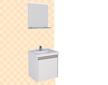 Kit de Banheiro em Madeira Rubi Cozimax