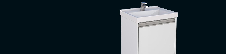 Kit para Banheiro em Madeira Rubi Cozimax Móveis
