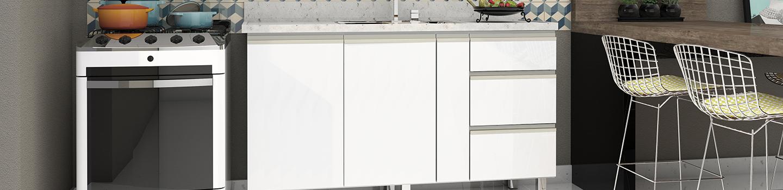 Cozinha em Aço Cozimax Gaia Flat