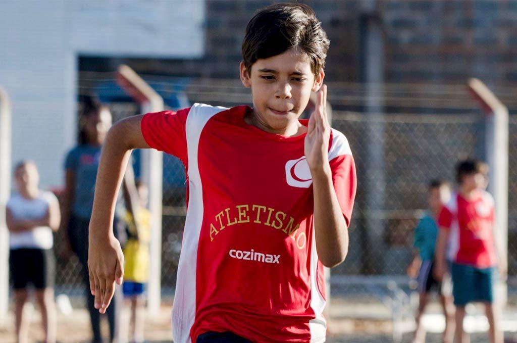 Projeto Cidadania para Todos Cozimax Atletismo Infantil