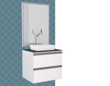 Banheiro em Aço Gaia Cozimax