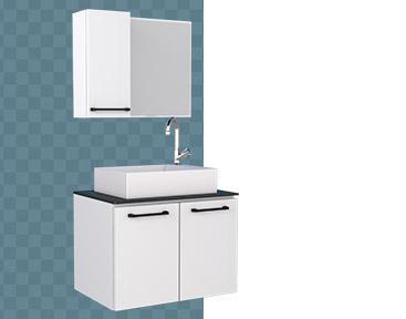 Banheiro em Aço Pêssego Cozimax