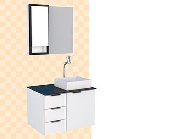 Banheiro em Madeira Anajá Cozimax