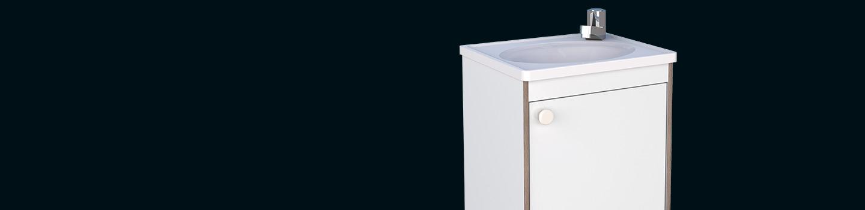 Kit para Banheiro em Madeira Pérola Cozimax Móveis