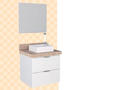 Banheiro em Madeira Sabará Cozimax