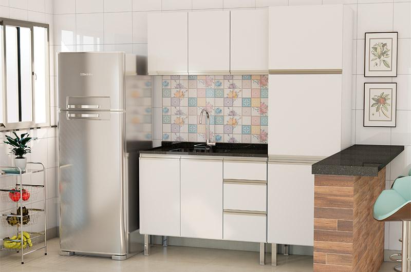Blog Cozimax Como decorar cozinha e diferenciá-la da lavanderia do apartamento