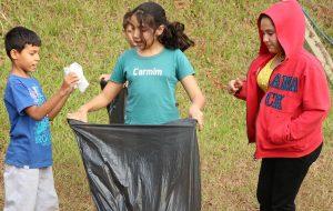 Gincana Mês do Meio Ambiente projeto Cidadania para Todos Cozimax