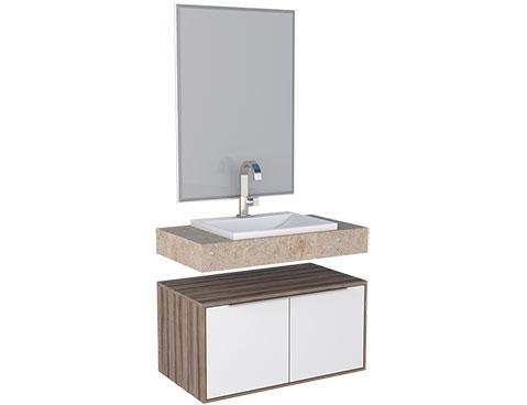 Banheiro em Madeira Arati 80 Cozimax