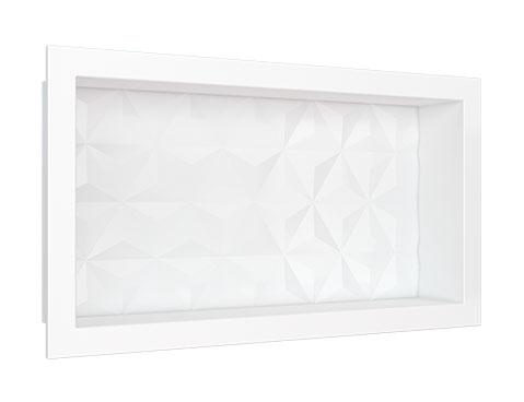 Nicho em Mármore Sintético Cozimax Medida 60 x 30 cor Branco
