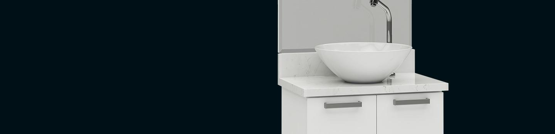 Banheiro em Aço Ísis Cozimax Móveis