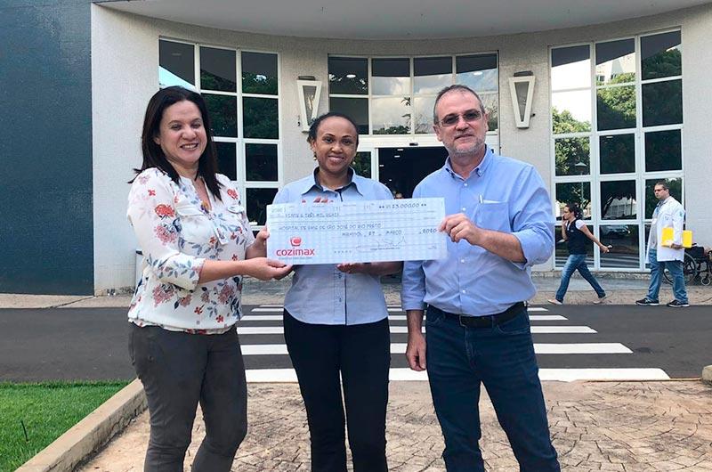 Cozimax Móveis apoia campanha do Hospital de Base de Rio Preto na luta contra o coronavirus