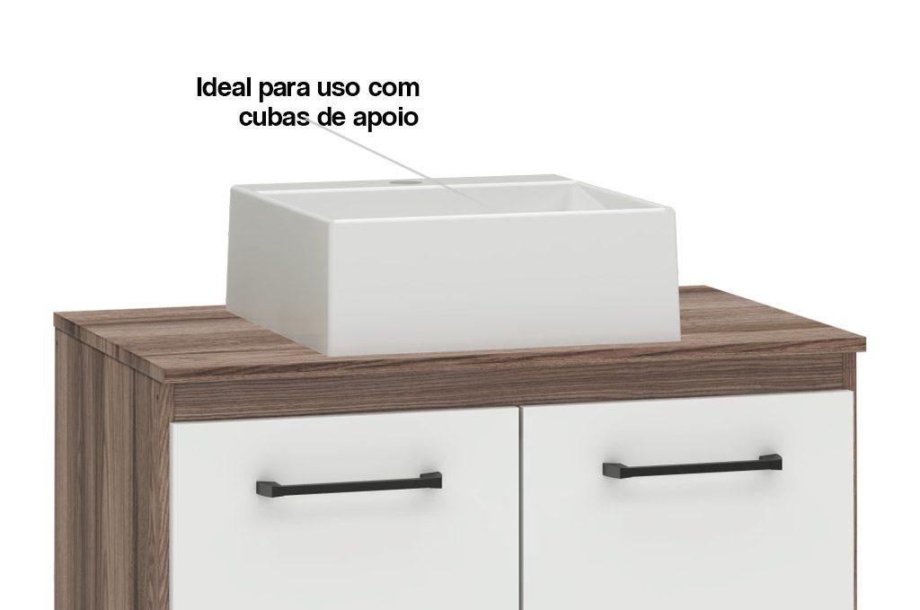 Banheiro em Madeira Hibisco Cozimax